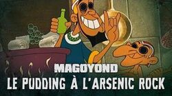 MAGOYOND - Le Pudding à l'Arsenic Asterix & Cléopâtre Rock Cover