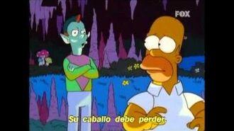 Canciones Simpson 11x13 Jinetes duende VOSE