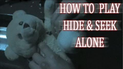 """How To Play Hide and Seek Alone"""