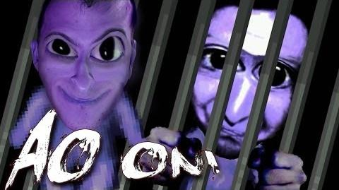 Ao Oni Part 2 MONSTERS IN THE DARK!
