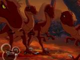 Velociraptors (The Legend of Tarzan)