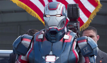 Iron Patriot live action