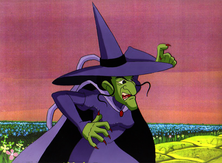 Wicked Witch of The West   Disney Versus Non-Disney Villains