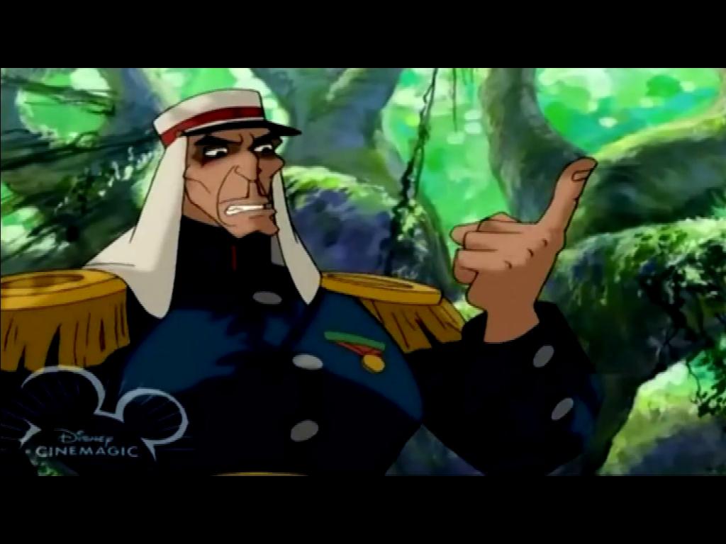 Lt. Colonel Staquait | Disney Versus Non-Disney Villains