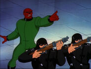 Red Skull and HYDRA Soldiers