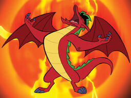 Jake Long Dragon form