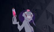 Yzma holding a potion
