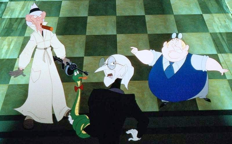 Dr  Greed's Henchmen   Disney Versus Non-Disney Villains