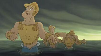 King Triton's Guards