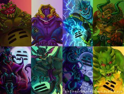 The 8 Demon Sorcerers