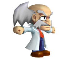 Dr. Wily CGI Megaman Powered Up