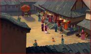 Mulan's Village