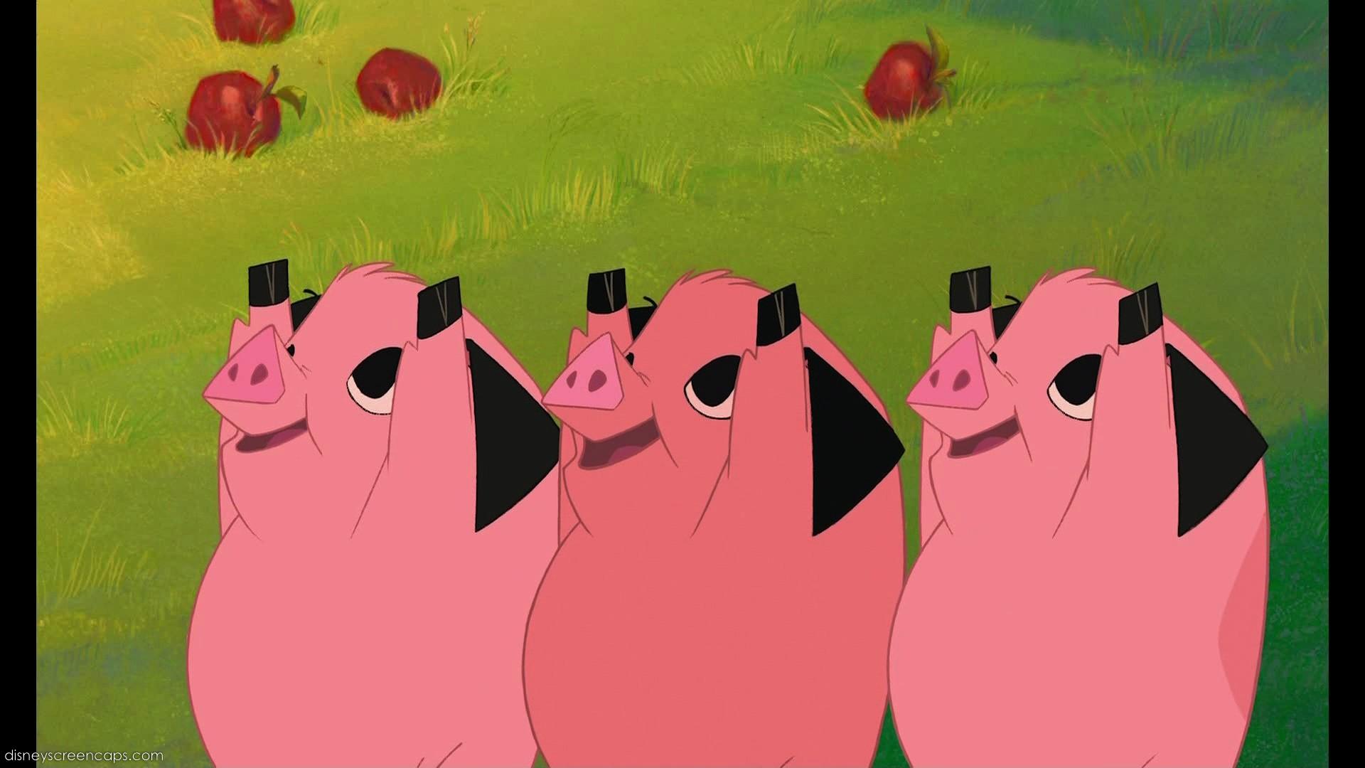 Piggies   Disney Versus Non-Disney Villains Wiki   FANDOM