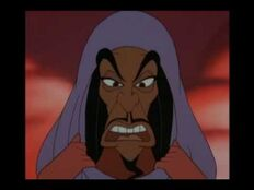 Jafar's transformation into Jasmine