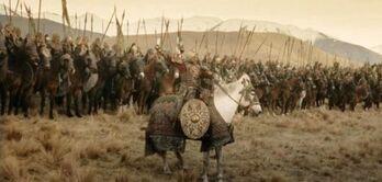 King Théoden's Men Live action