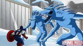 Avengers Ice Demons