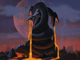 King Hiss' Snake Mountain
