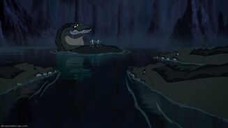 Alligators (The Princess and the Frog)