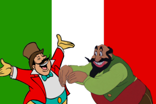 Disney italian villains