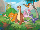 Littlefoot's Friends