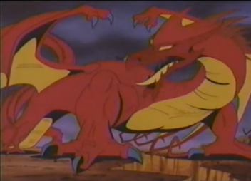 Skullmaster's Dragon