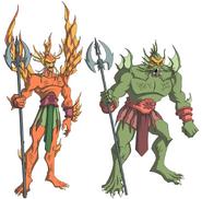 Merman's Guards