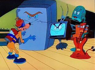Megavolt's Appliance Gang