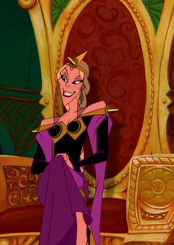 Ludmilla   Disney Versus Non-Disney Villains Wiki   FANDOM