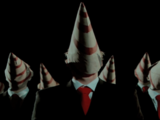 The Cone-Faced Men