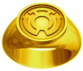 Yellow Lantern Power Ring