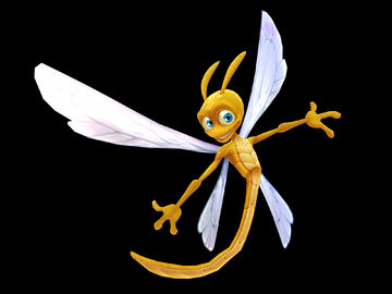 Sparx the Dragonfly