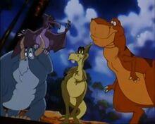 Rex's Dinosaur Gang