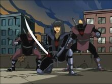 Karai, and his elite Foot Ninja guards