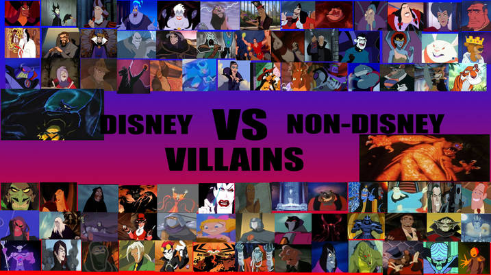 List of Synonyms and Antonyms of the Word: non disney villains wiki