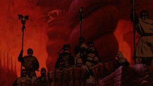 Saruman's Army (Animated)