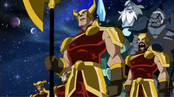 Asgardians Soldiers Avengers