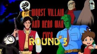 Worst Heroes and Villains War Ever Round 3 Merge Of The Timelines