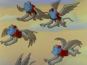 Flying Monkeys Wizad of Oz TV Show