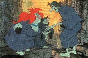 The Witches of Morva   Disney Versus Non-Disney Villains