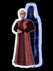 Darth Sidious Emperor Palpatine CGI