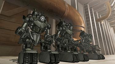 Mecha tanks