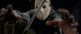 Jason takes an axe