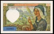 50 francs 1938