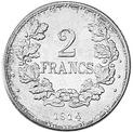 2 francs 1914