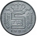 5 francs 1955