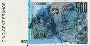 500 francs 1988