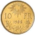10 francs 1982
