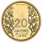 20 centimes 1966