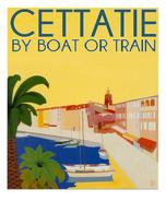 Affiche de tourisme Cettatie
