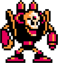 Doc Robot Megaman 3 Sprite Standing Right